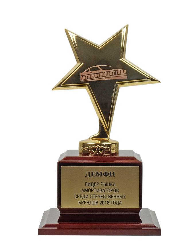 Демфи - лидер российского рынка амортизаторов 2018